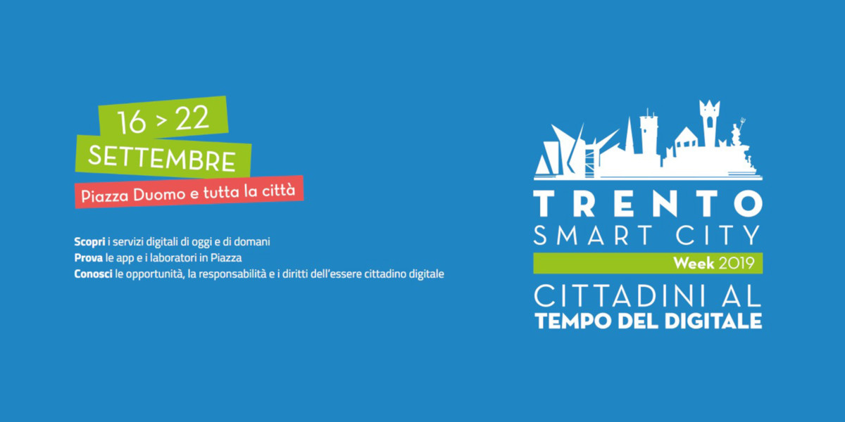 Prende il via la terza edizione della Trento Smart City Week