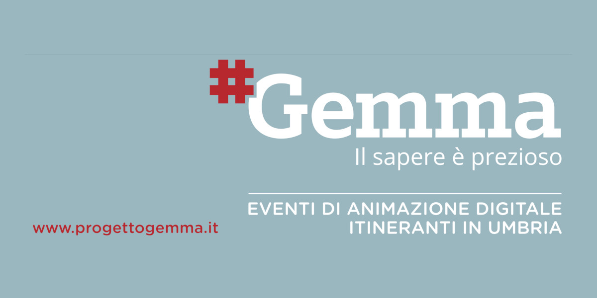 Progetto Gemma, in Umbria parte un innovativo programma di alfabetizzazione digitale