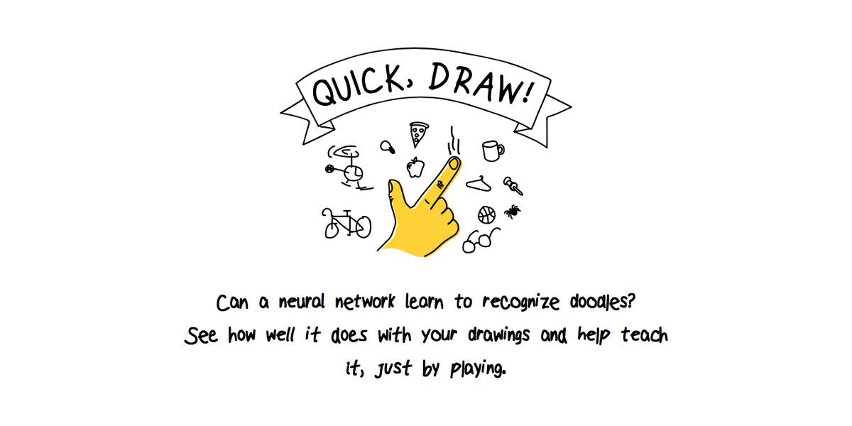 Quick, Draw!, da Google un gioco dedicato all'intelligenza artificiale