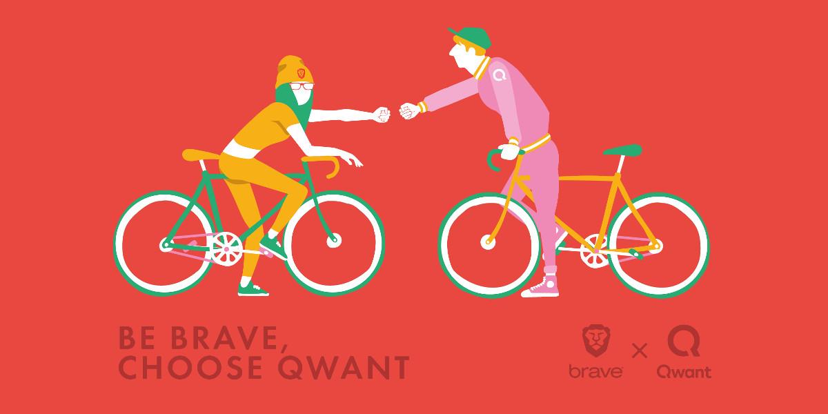 Qwant e Brave insieme per la privacy degli utenti