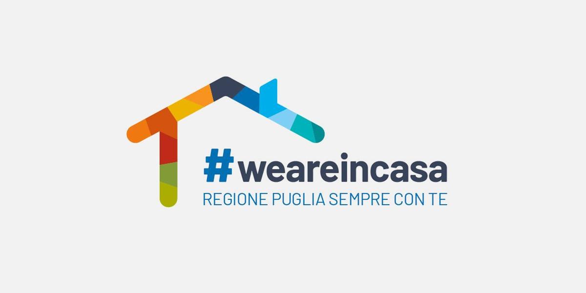 Regione Puglia lancia WeAreinCasa