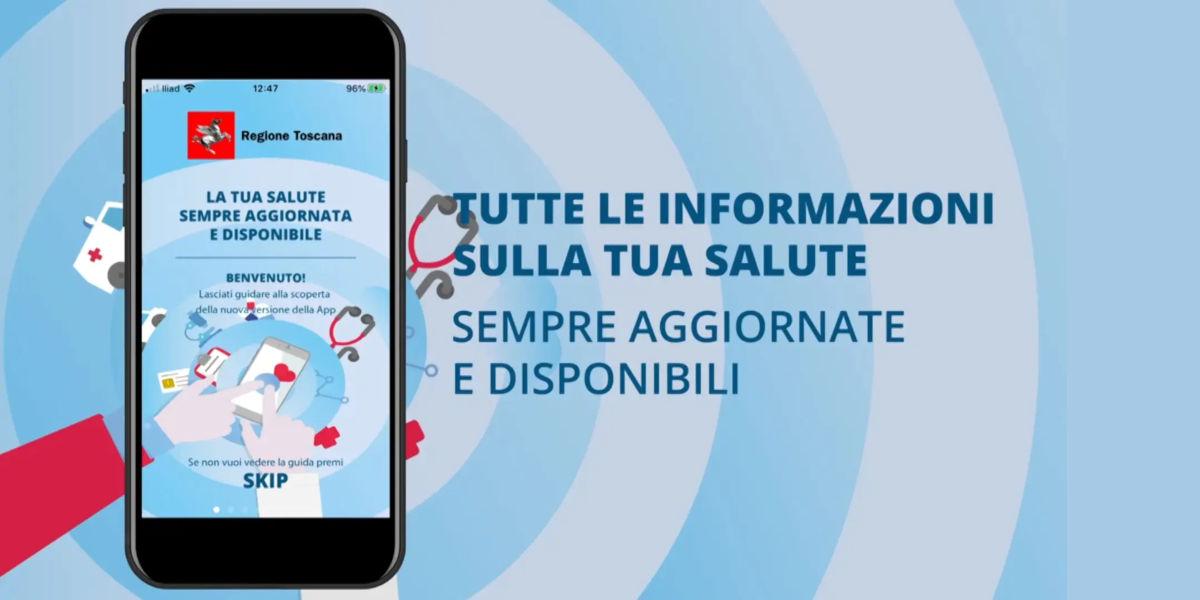 Regione Toscana potenzia l'app Toscana Salute