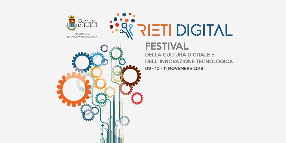 Rieti Digital, a Rieti arriva il festival dedicato alla cultura digitale