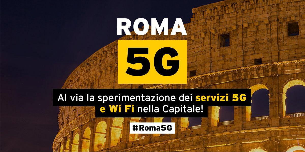 Roma sceglie Fastweb per la sperimentazione della rete 5G