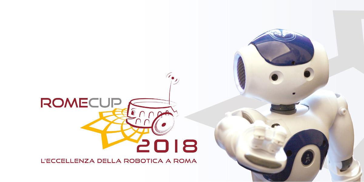 RomeCup, la robotica torna protagonista a Roma