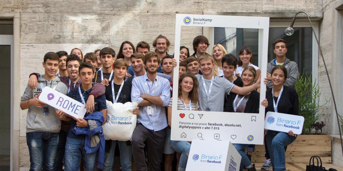 Social Kamp, un innovativo programma di alternanza scuola-lavoro presso il Binario F