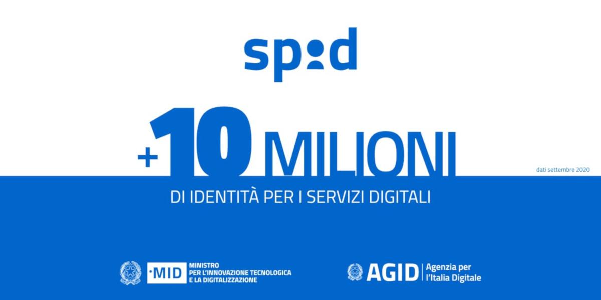 SPID, superata quota dieci milioni