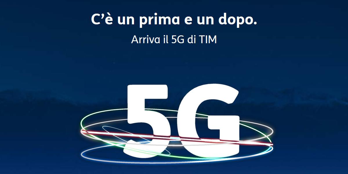 TIM presenta i propri servizi 5G per privati e aziende