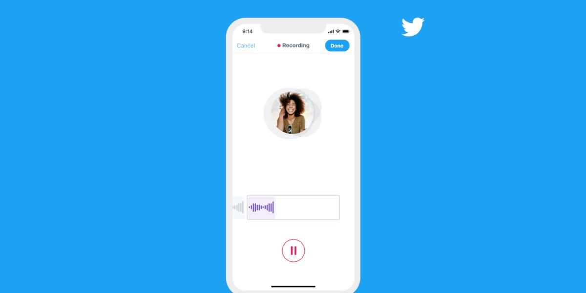 Twitter introduce i messaggi vocali