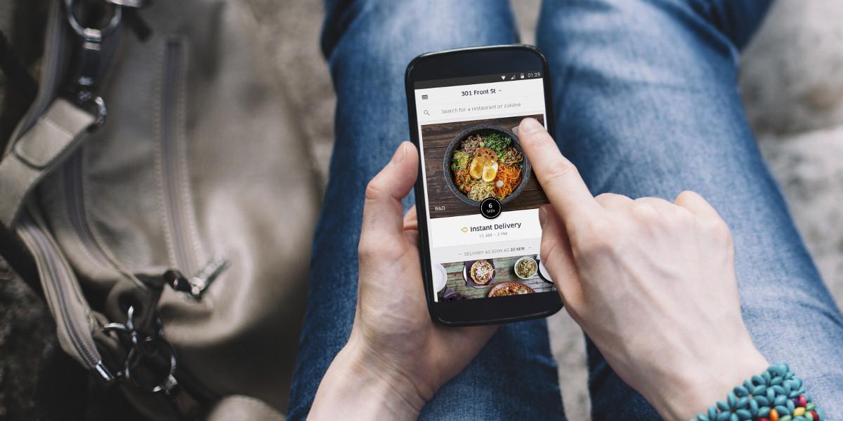 Uber Eats in arrivo anche in Italia