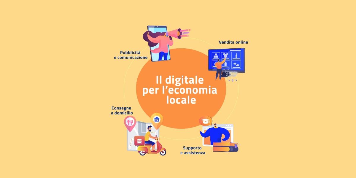 Vicini e Connessi, il digitale soccorre ancora l'economia locale