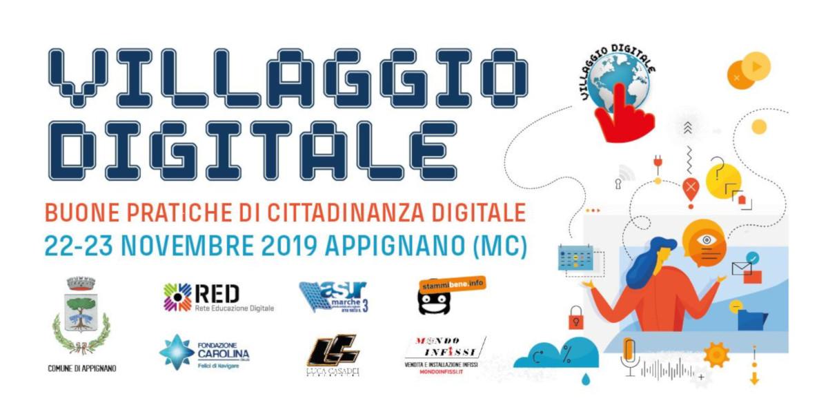 Villaggio Digitale, l'educazione digitale è protagonista ad Appignano