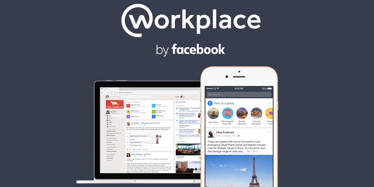 Workplace, Facebook lancia il proprio strumento collaborativo
